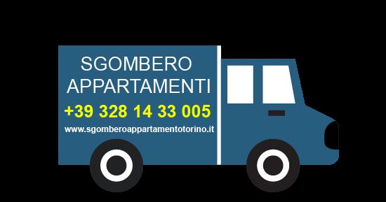 Sgombero appartamento Torino +39 328 14 33 005
